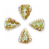 Glass Tones Golden Years 4 Guitar Picks